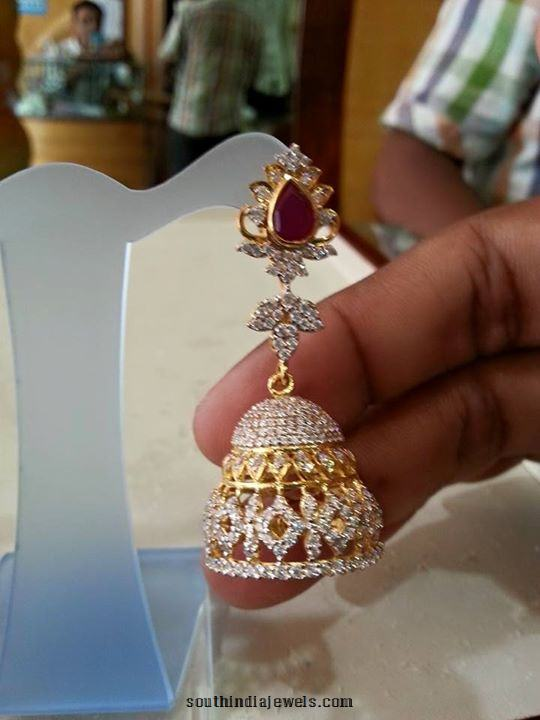 Gold Jhumka design 2015