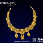 Gold Necklace from Rudramadevi Collections