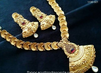 One Gram Gold Fancy Necklace