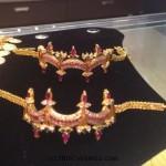 15 Grams Gold Baby Bajubandh Design