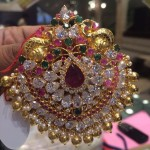 22 Carat Gold Stone Pendant Designs