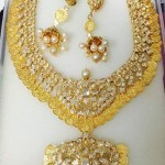 22 Carat Gold Kasumalai with Jhumka