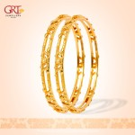 22K Gold Bangle Design From GRT Jewellers