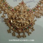 35 Grams Gold Short Necklace Design