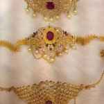 35 to 40 Grams Gold Stone Armlets
