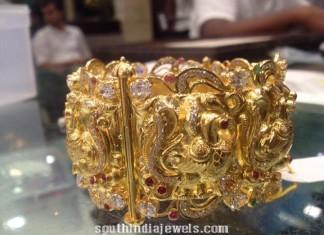 83 Grams Weight Gold Kada Design