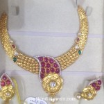 87 Grams Gold Designer Necklace