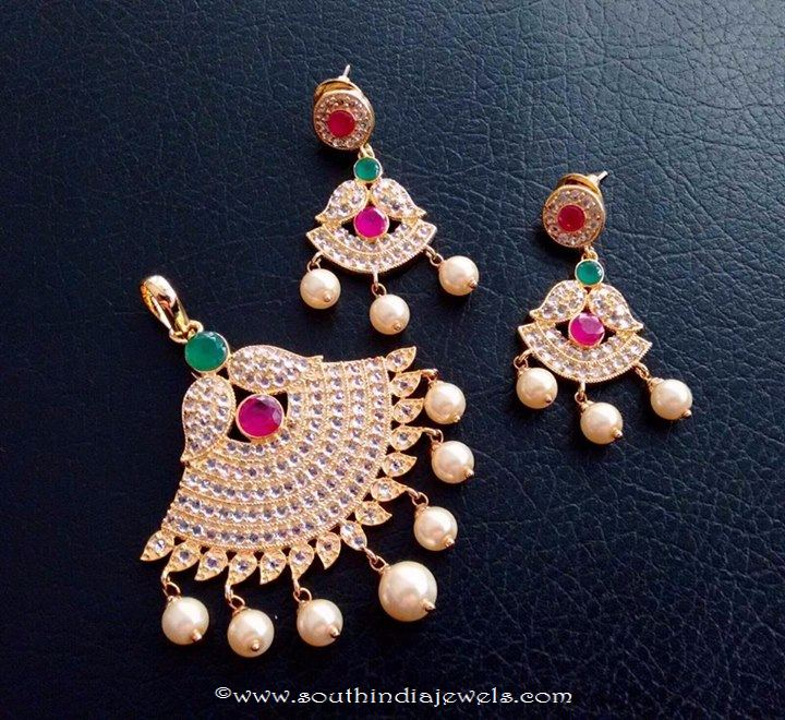 Cheap Stone Pendant Sets Shobha Creations