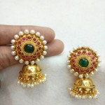 Colorful Imitation Kemp Jhumka