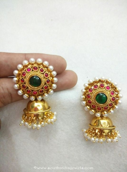 Colorful Imitation Jhumka