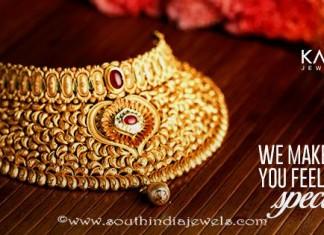 Latest Gold Choker Design From Kalyan Jewellers