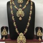 Imitation Ruby Bridal Jewellery Sets