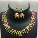 Kemp Necklace Set with Matching Jhumka