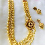 Imitation Kundan Long Necklace Sets
