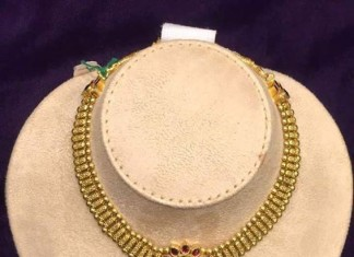 Gol Antique Attigai Necklace