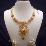 Gold Stylish Designer Necklace
