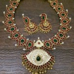 Kemp Necklace Set with Jhumka