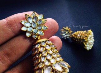 kundan jhumka exclusively yours