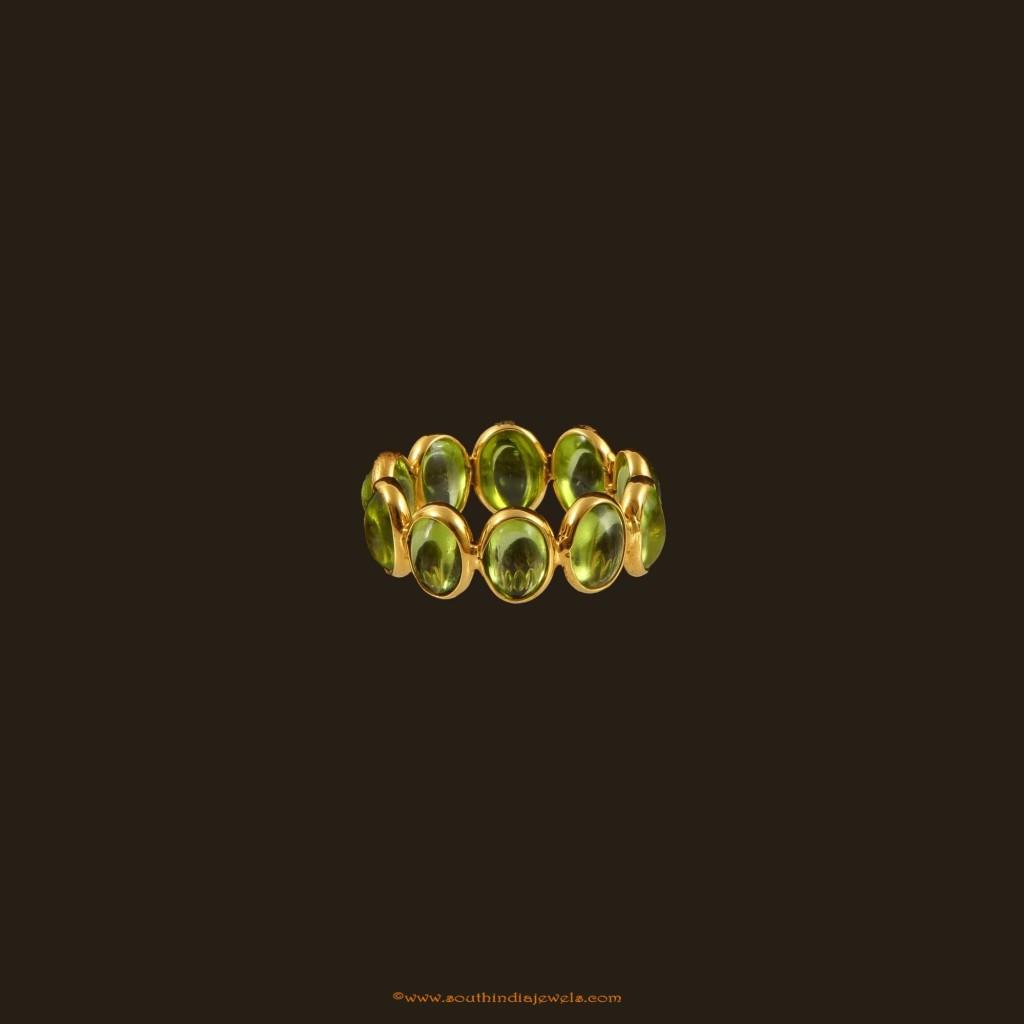 18K Gold Stone ring VBJ