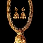 22K Gold Temple Kasumalai Necklace