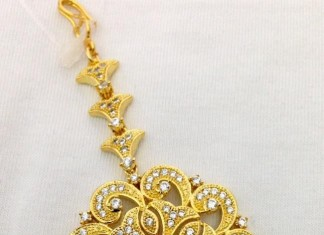 Indian Wedding Tikka designs from swarnakshi jewels and accessories