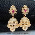CZ Stone Jhumka with Price