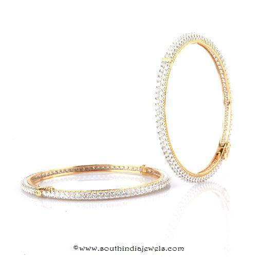Diamond Bangle Design from Bhima Jewellery
