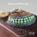 Bridal Diamond Choker Set from VBJ