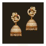 Diamond Jhumka Design from VBJ
