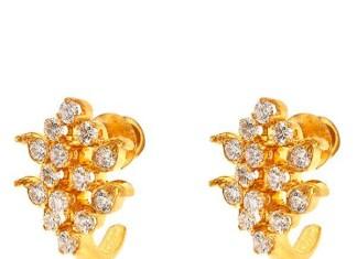 Gold Diamond Earring designs