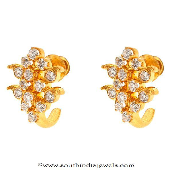 Gold Diamond Earring designs