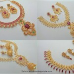 Imitation Ruby Jewellery Sets
