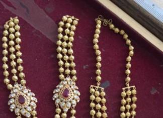 Gold Gundala Haram Designs