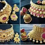 Grand Wedding Choker Necklace Sets