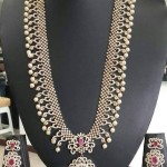 Grand American Diamond Long Necklace
