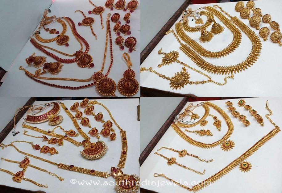 Kemp Jewellery Bridal Sets South India Jewels