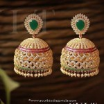 Huge Imitation Stone Jhumka