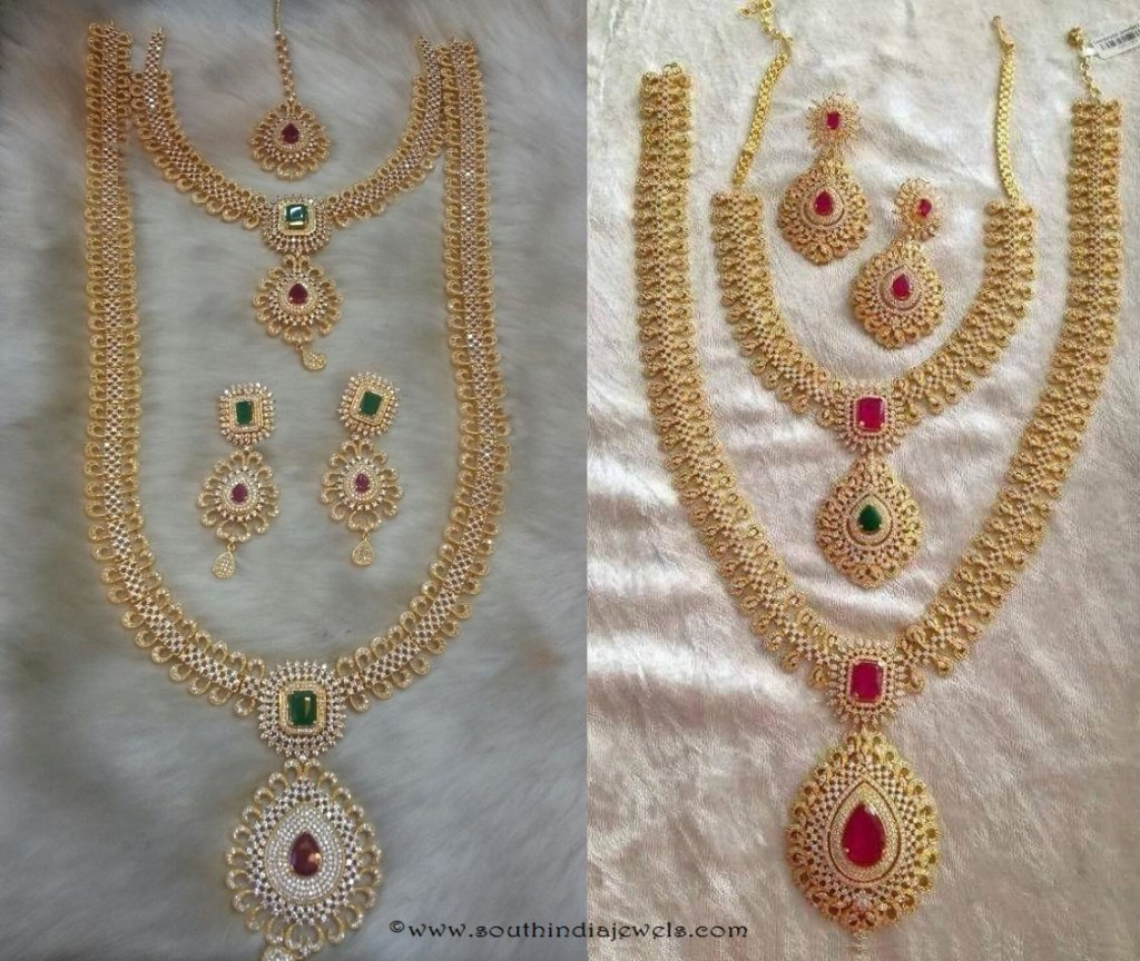 American Diamond Wedding Jewellery Sets from SIIMA Jewels