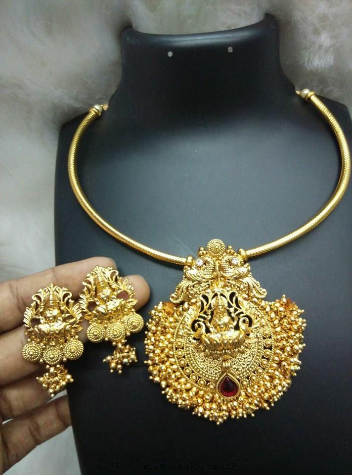 Imitation Simple Short Necklace Design