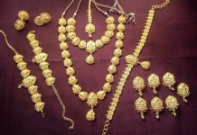 South Indian Nagas Bridal Jewellery Set