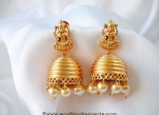 Latest Model Temple Jhumka