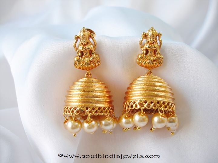 Latest Model Temple Jhumka