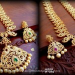 Traditional South Indian Haram Set