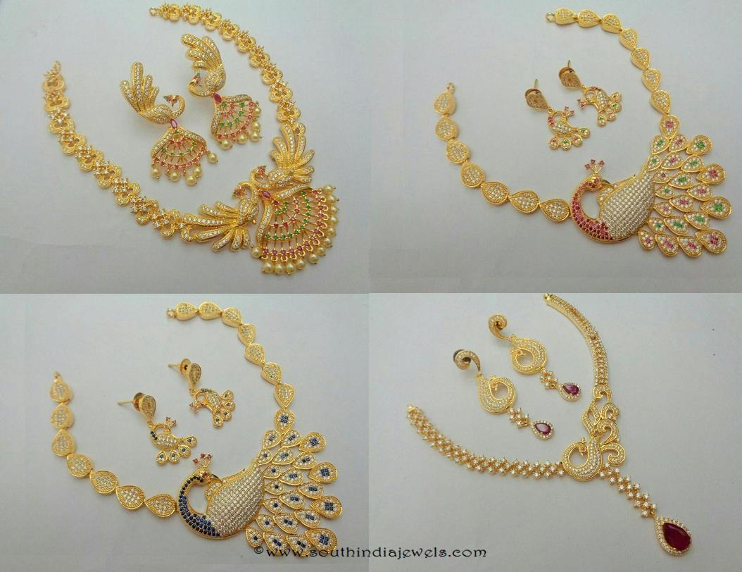 Latest Imitation Necklace Designs ~ South India Jewels