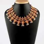 Gold Antique Ruby Choker From Bhima Jewellery