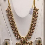 Gold Antique Kemp Long Necklace Set