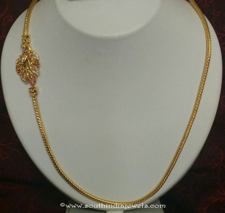 gold plated chain buy online