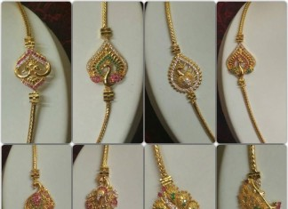 gold plated chains images