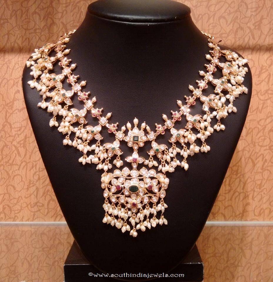 22k gold guttapusalu necklace from NAJ