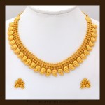 Classic Gold Mango Mala from VBJ